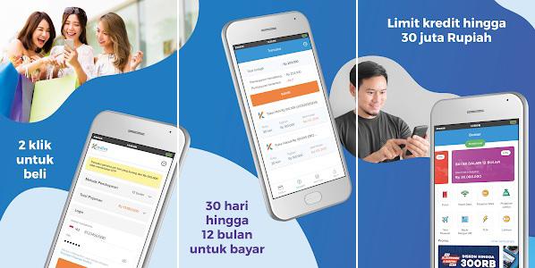 screenshot aplikasi pinjaman milik kredivo