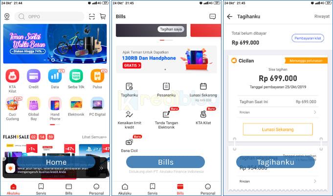 bayar akulaku dengan mobile banking bca