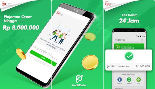 screenshot aplikasi pinjaman milik kredit pintar