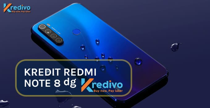 kredit hp redmi note 8 di kredivo featured