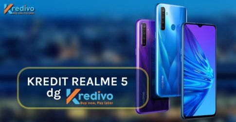 Kredit HP Realme 5 Resmi di Bukalapak dengan Cicilan Kredivo