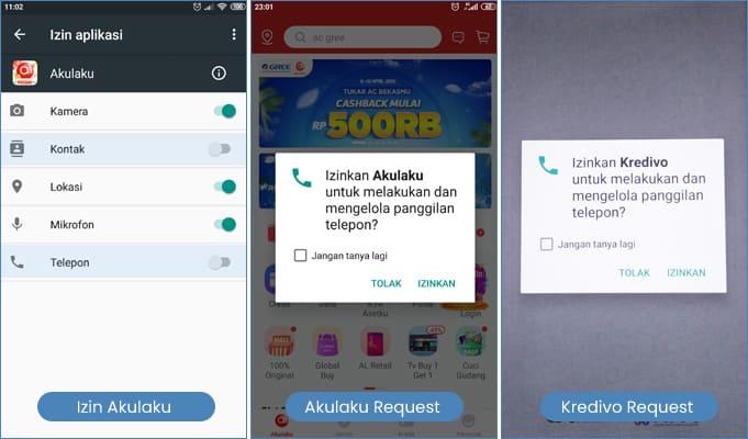 cara menghapus data kontak dari pinjaman online request aplikasi