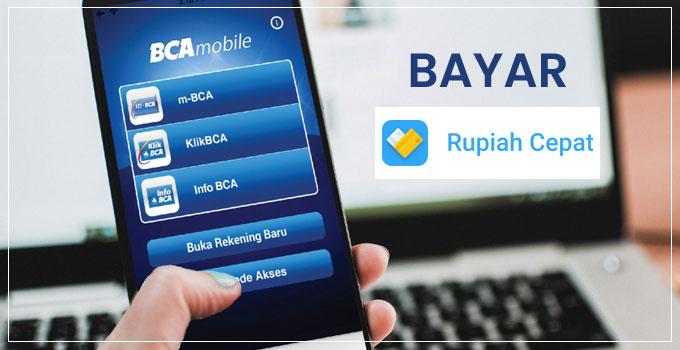 bayar rupiah cepat dengan mobile banking bca featured image