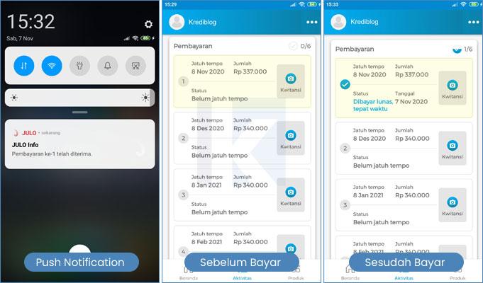 tutorial bayar juli di mobile banking bca