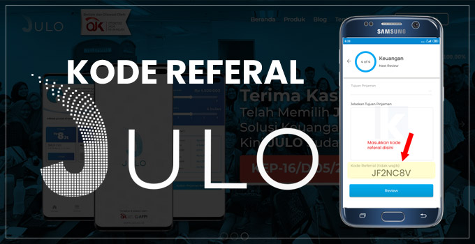 kode referal julo featured image