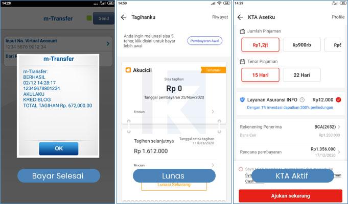 Cara Bayar Kta Asetku Akulaku Dengan Mobile Banking Bca Krediblog